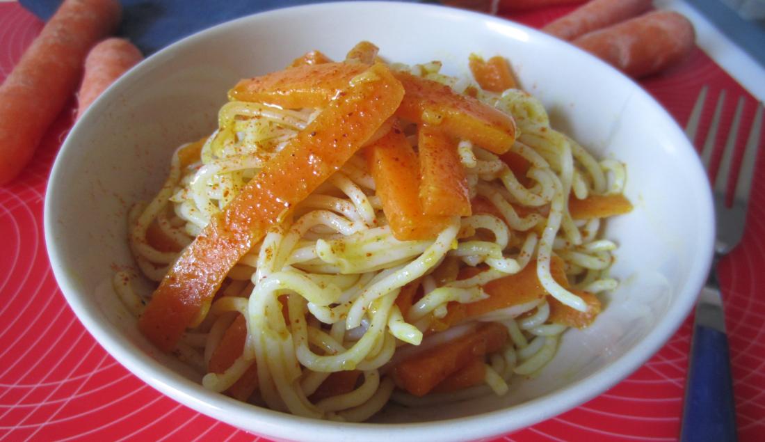 Vermicelli di riso con carote agrodolci for Ricette di riso
