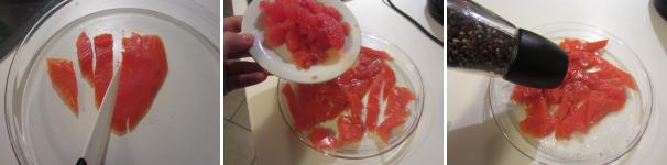 insalata di salmone e pompelmo_proc2