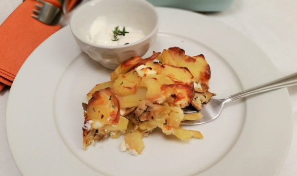 patate rosse al gratin_