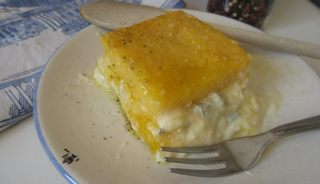 polenta concia