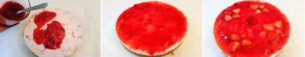 cheesecake alle fragole_proc13