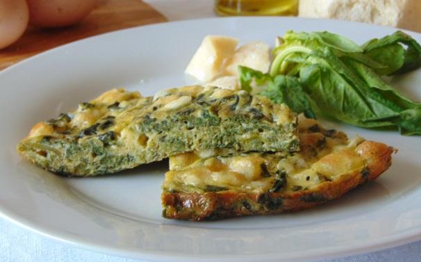 frittata di spinaci al forno_