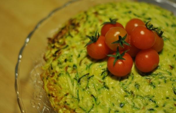 frittata di zucchine al forno_