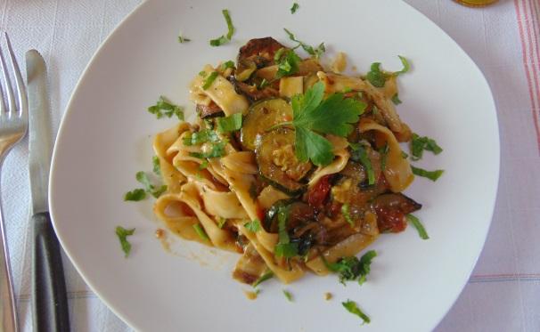 pasta risottata con zucchine_proc5