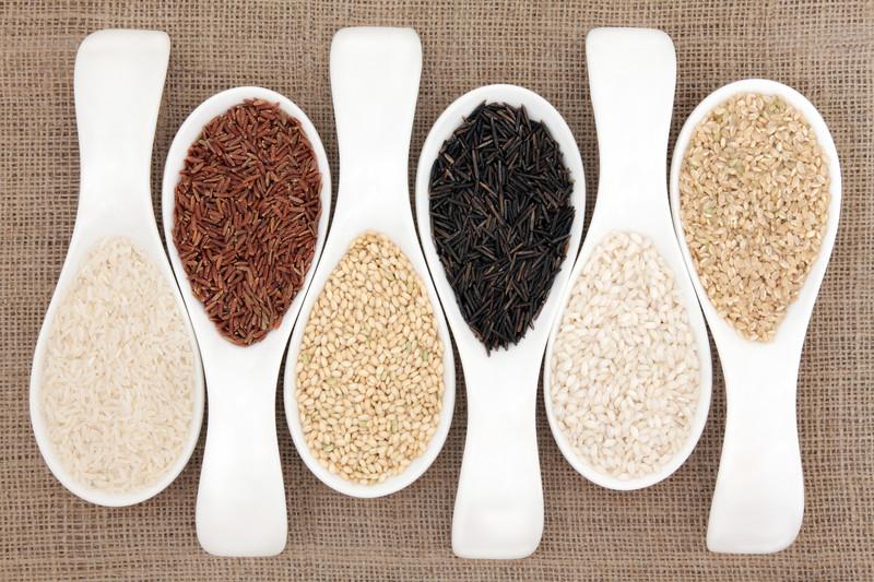 I diversi tipi di riso e il loro utilizzo - Diversi tipi di trecce ...