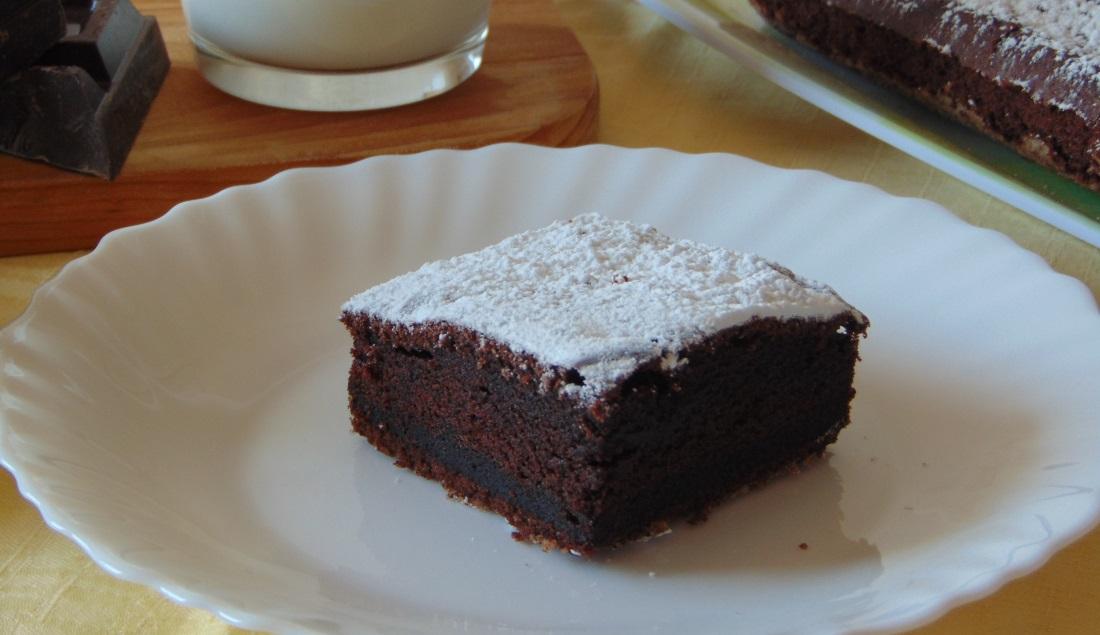 Torta Senza Uova Al Cioccolato.Torta Al Cioccolato Senza Uova