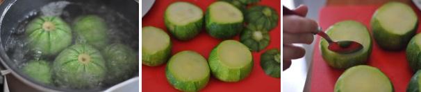 zucchine tonde_proc1