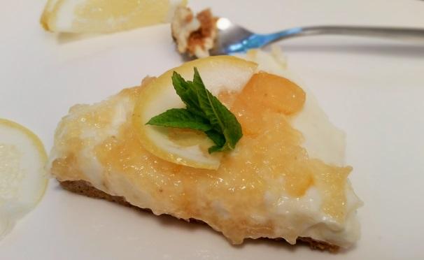 cheesecake al limone_