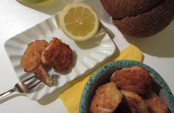 pollo croccante al cocco_