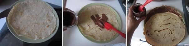torta di crepes alla Nutella_proc3