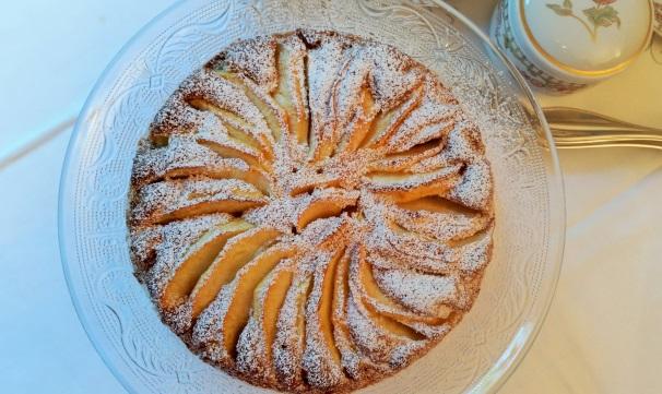 torta di mele senza uova_