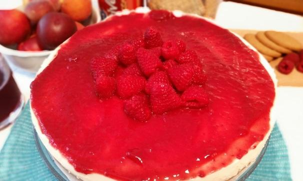 cheesecake con ricotta e mascarpone_