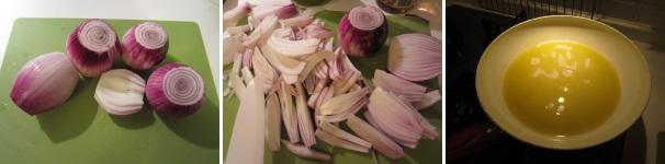 cipolle di Tropea in agrodolce_proc1