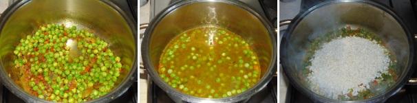 risotto al curry con piselli_proc3