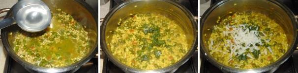 risotto al curry con piselli_proc4