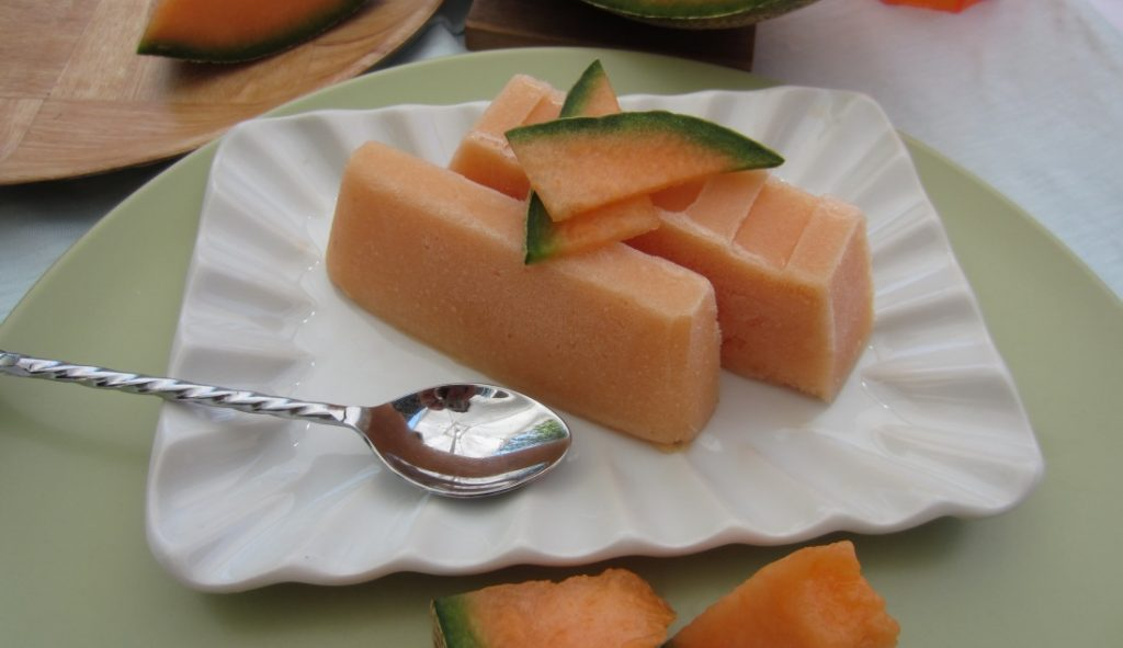 semifreddo al melone