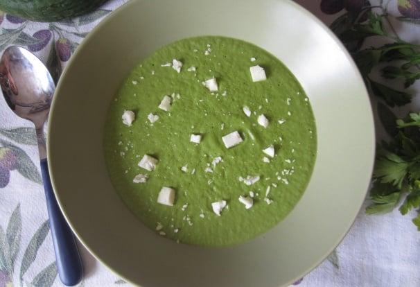 crema di zucchine fredda_
