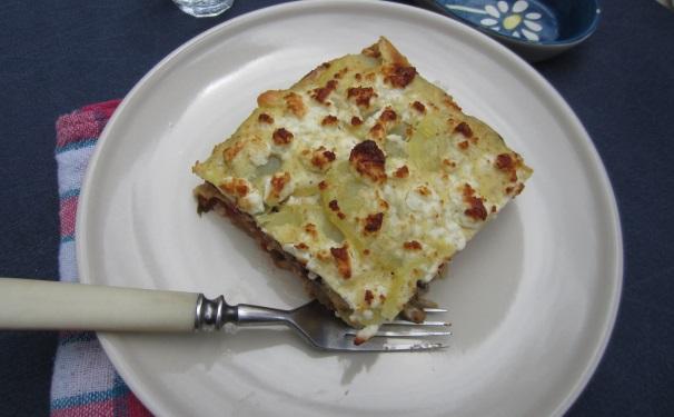 moussaka vegetariana_