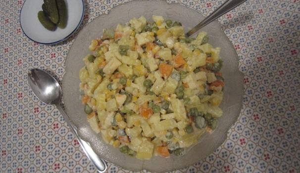 insalata russa fatta in casa