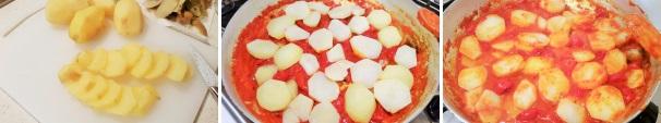 patate con mozzarella e pomodoro