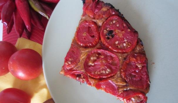 torta di pomodori tex mex