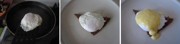 uova alla Benedict procedimento