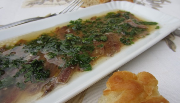 antipasto di alici