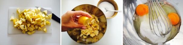 ciambellone mele e ricotta ricetta