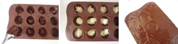 cioccolatini alla menta procedimento