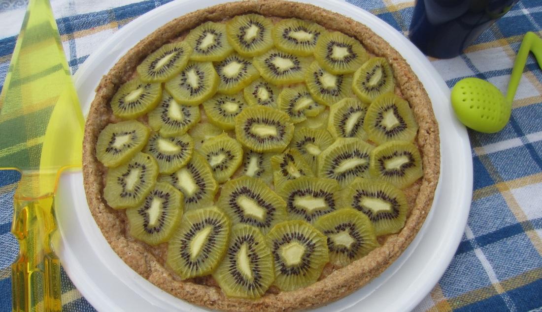 crostata di kiwi