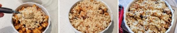 crumble di mele ricetta veloce