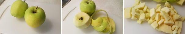 crumble di mele ricetta