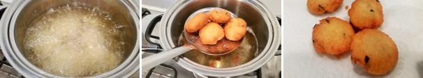 polpette di patate fritte