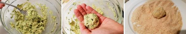 polpette di zucchine vegetariane