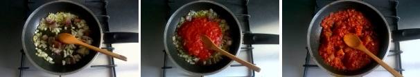 spaghetti al rancetto preparazione