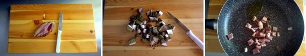 tagliatelle funghi e salsiccia ricetta