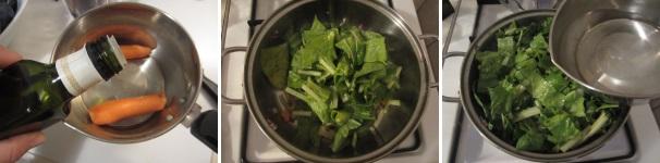 zuppa di bietole procedimento