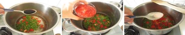 zuppa di pomodoro preparazione