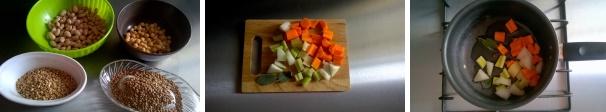zuppa farro e legumi ricetta