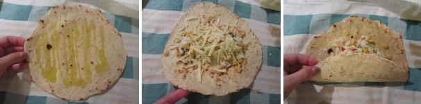Burrito con riso, mais e jalapeno messico