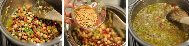 Minestrone di legumi 3