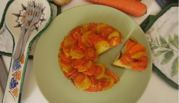 Torta di carote e patate