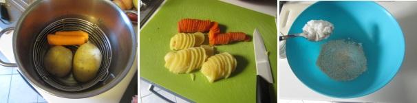 Torta di carote e patate procedimento