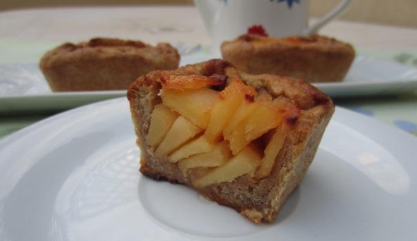 Tortine di mela cotogna ricultato finale