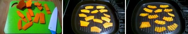 zucca grigliata sott'olio ricetta