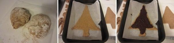 Albero natalizio di pan brioche buonissimo