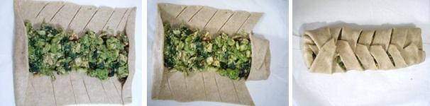 Procedimento 7 strudel salato broccoli e salmone
