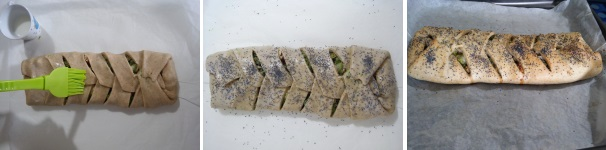 Procedimento 8 strudel salato broccoli e salmone