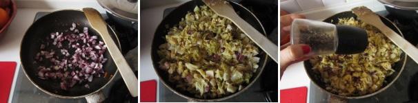 Torta salata di verza e panna acida facile