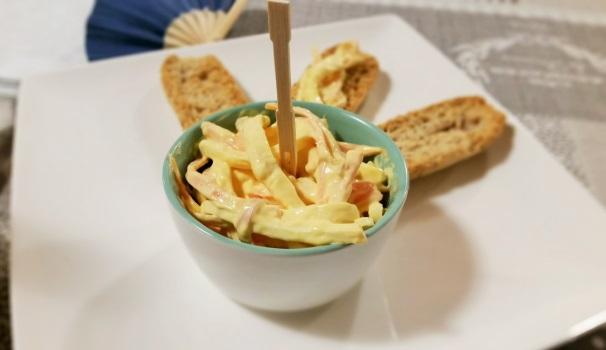 insalata capricciosa fatta in casa